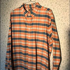 ll bean signature plaid designer shirt